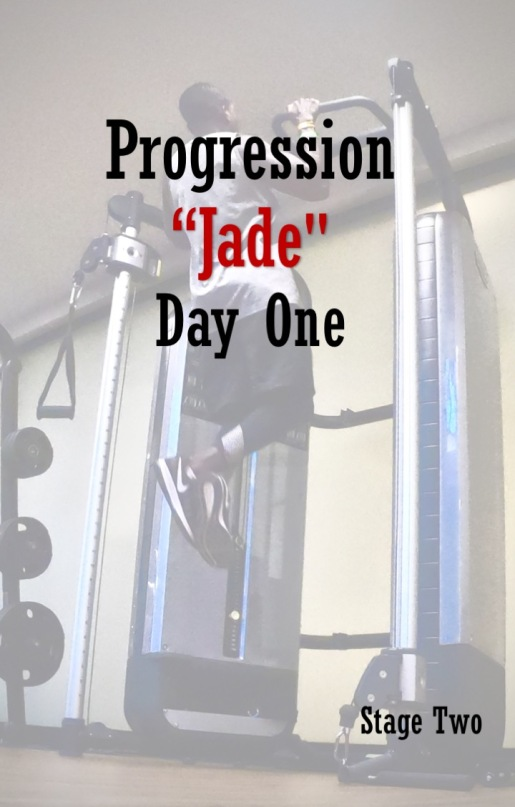 Progression Jade - Stage Two - Day one